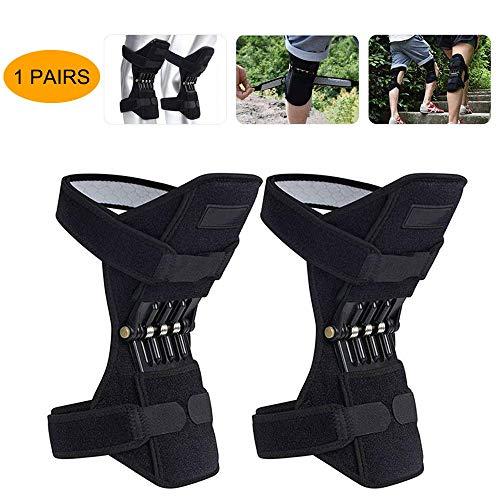 Ginocchiere, fasciatura del ginocchio, per sollevare articolazioni, booster di rimbalzo, stabilizzatori per ginocchia, protezione per alpinismo, terapia intensiva, squat ed esercizi fis