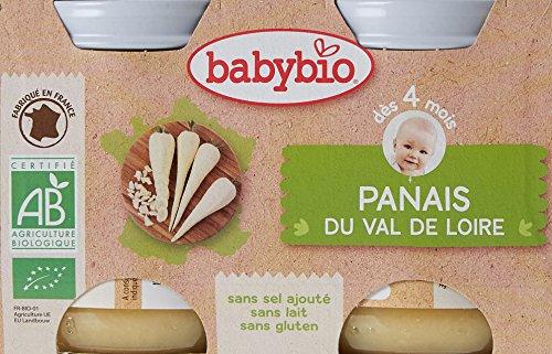 Babybio Pots Panais du Val de Loire 260 g - Lot de 6