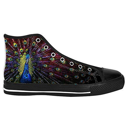 Dalliy sch?ne pfau Kids Canvas shoes Schuhe Lace-up High-top Footwear Sneakers C GiOdmD