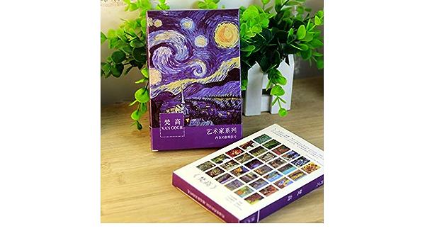 30 Feuilles//lot Van GOGH Peinture à l/'huile-Carte Postale Vintage peintures cartes postales JB