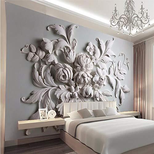 3D 3D Fototapete Für Wände 3D Relief Hintergrund Eingang Vogel Blatt 3D Wandbild Tapeten Wohnkultur (W)200X(H)140Cm Relief-blättern