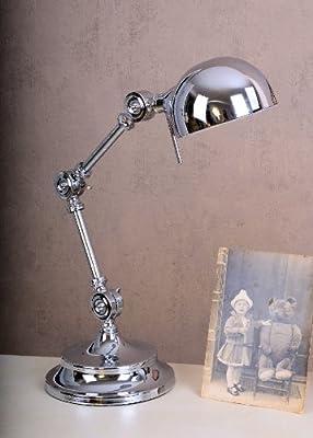 Bauhaus Gelenklampe Schreibtisch Leuchte im Art Deco Stil von PALAZZO INT auf Lampenhans.de