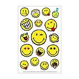Herlitz 50001996 Sticker Smiley World, klein, 3 Bogen, selbstklebend, FSC