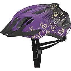 ABUS Mountx Maori Casque de Vélo Enfant Violet Taille M
