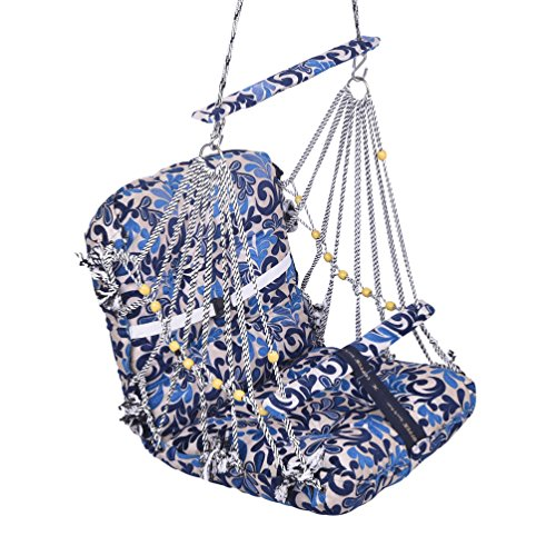 Aashi Enterprise Folding And Washable Cotton Swing For Kids (Multicolour, 2-13 Years)