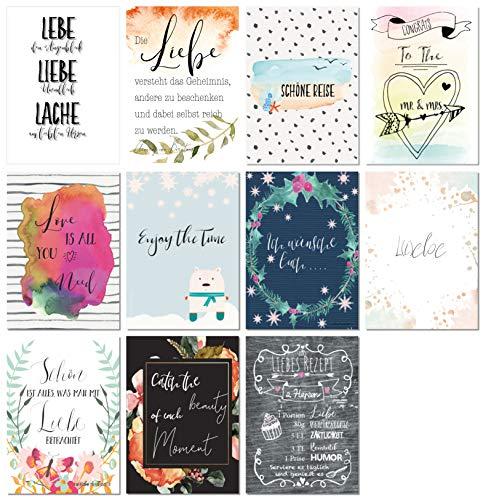 Postkarten Hochzeit | 52 Wochen - 4
