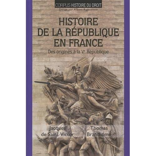Histoire de la Republique en France