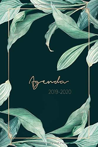 Agenda 2019 - 2020: Agenda Semainier et Calendrier Août 2019 à Décembre 2020 | Agenda Journalier - Agenda de Poche 2019 - 2020 | Agenda Organiseur pour ton quotidien