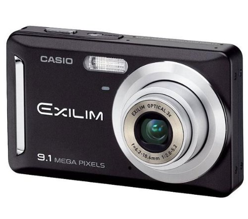 "Casio Exilim EX-Z19 BK Digitalkamera (9 Megapixel, 3-fach opt. Zoom, 2,6"" Display) schwarz"