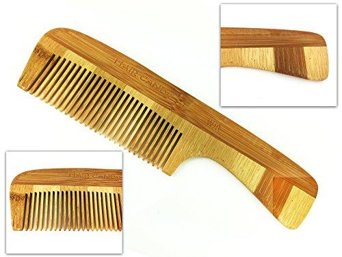 Hair Candy peine de madera antiestática