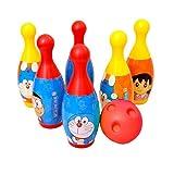 Doraemon Bowling Set, Multi Color