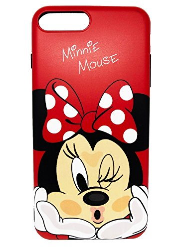 Disney Minnie & Seven Dwarfs Weiche, transparente TPU-Handyhülle for iPhone 6, iphone7, 7plus & 8plus (iPhone 7PLUS / 8PLUS, Minnie 2)