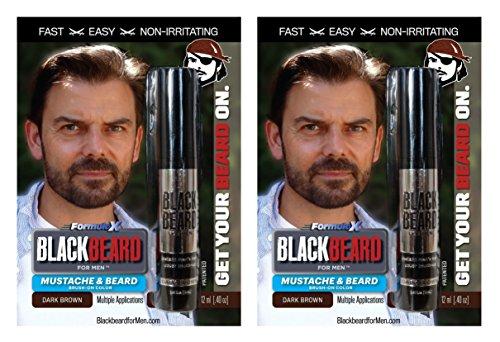 Blackbeard-for-Men-temporary-brush-on-colour-12ml-Dark-Brown-X2