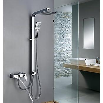 homelody colonne de douche pour baignoire avec mitigeur. Black Bedroom Furniture Sets. Home Design Ideas