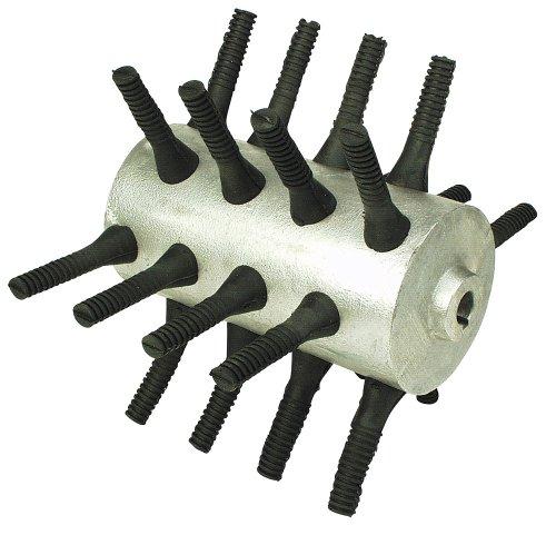 Kerbl 70503 Rotor avec 24 doigts de rechange pour plumeuse 70502