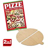 Spice Set Spice - Paleta de madera para hornos pizza Spice - G3ferrari - Optima - Ariete - Melchioni + Recetario Pizza Calzoni Pane