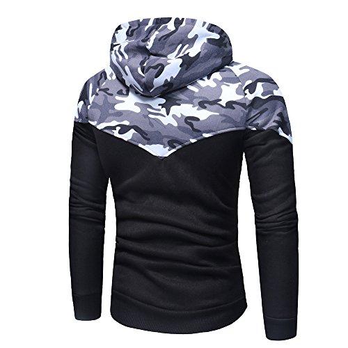 Junjie Mode Mens Mantel,Slim Entworfen Revers Cardigan Jacke Sweatshirt Regenmantel Wasserdicht Atmungsaktiv Ellenbogen Patches Anzüge Coat Smart Formales Abendessen Passt Jacke Herren Hemden
