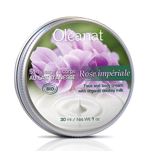 oléanat Cura Viso/Corpo al latte di anesse/Rosa Imperiale Bio 30ml