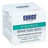 Hyaluron regenerierende Nachtpflege Spar-Set 2 x 50 ml Stimuliert tiefenwirksam und 3-dimensional. Pro Kollagen, Elastin, Hyaluron