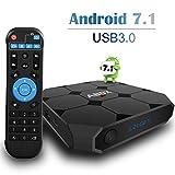 TV Box Android 7.1, ABOX A1MAX 4K Media Player Box Quad-core con Super Speed USB 3.0 Interfaccia immagine