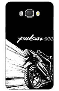 iessential bike Designer Printed Back Case Cover for Samsung Galaxy On8(GOLD)