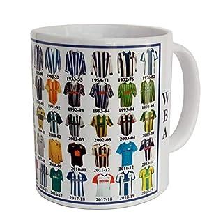 West Bromwich Albion Mug Shirt History