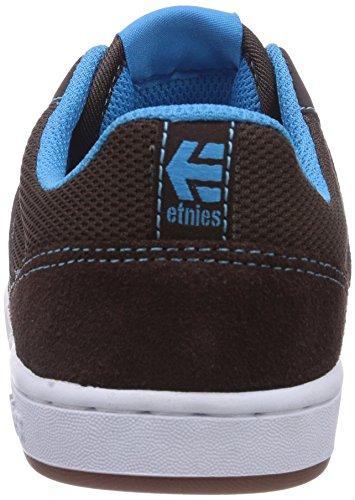 Etnies Kids Marana, Scarpe Da Skateboard Per Bimbi Marrone (Brown/Blue)