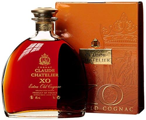 Preisvergleich Produktbild Claude Chatelier XO Extra Old mit Geschenkverpackung  Cognac (1 x 0.7 l)