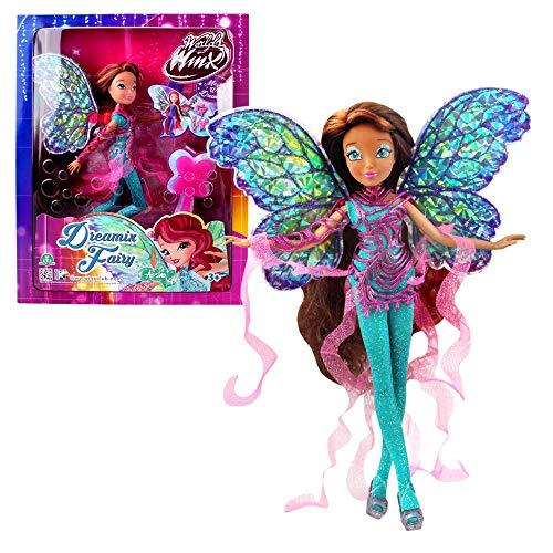 World of Winx - Dreamix Fairy - Hada Layla Aisha Muñeca...