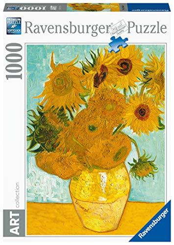 Ravensburger 15805 Van Gogh: Vaso di Girasoli Puzzle 1000 Pezzi Arte