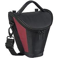 Riva 7501 Colt Schutz Tasche Hülle Bag in Canvas Grau für Pentax K-X