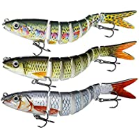 all colours and sizes Biwaa Seven Sinking Swimbait Lure