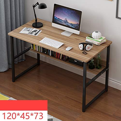 Ywdnza Computertische Computertisch Schreibtisch Tisch einfach IKEA Wirtschaft Schlafzimmer Studentenheim kleine Wohnung Raum einfachen Schreibtisch Computerschränke (Farbe : D)