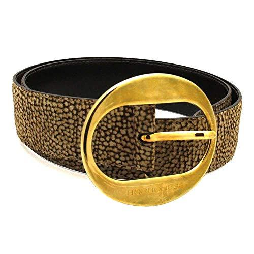 Borbonese Cintura Donna Beige-Marrone - 911149609388-40