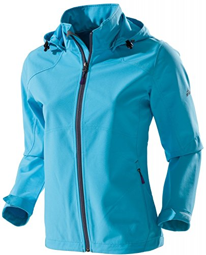 Outdoorjacke: McKinley Softshelljacke Clarksville Women (blue light, 42) -