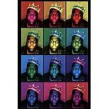 Notorious BIG - King Pop Art Artistica di Stampa (60,96 x 91,44 cm)