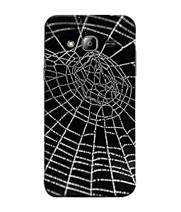 FUSON Designer Back Case Cover for Samsung Galaxy On7 Pro :: Samsung Galaxy On 7 Pro (2015) (Spider Man Fighter Warrior )