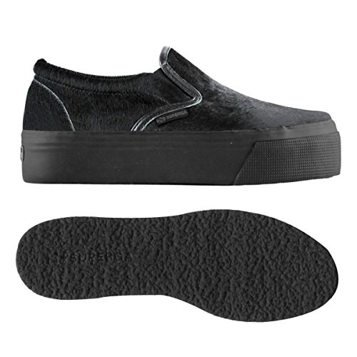 Superga 2314-Leahorsew, Sneaker, Donna FULL BLACK