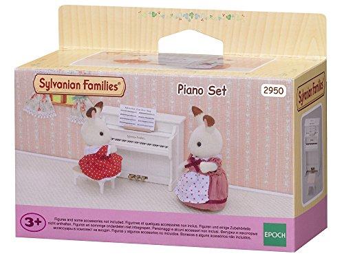 Epoch D'enfance Sylvanian Family 2950 - Piano en miniatura con figuritas de animales