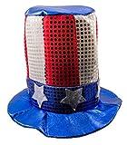 Folat 09936 - Amerikanischer Hut, blau / rot