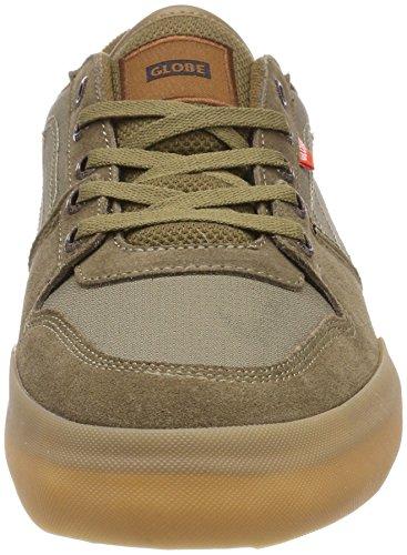 Hombre De Grün Goma marrón Mundo Legado Zapatos Oliva Mojo Skate qxXR4O