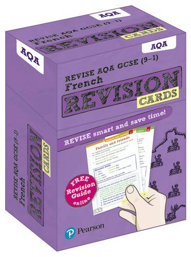 Revise AQA GCSE (9-1) French Revision Cards: with free online Revision Guide (Revise AQA GCSE MFL 16)