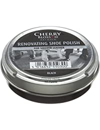 Cherry Blossom Premium Renovating Polish, Lustra Zapatos Unisex Adulto, Negro (Black), 50 ml