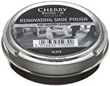 Cherry Blossom Premium Renovating Polish, Trattamenti e Lucidi per Scarpe Unisex – Adulto, Nero (Black), 50 ml