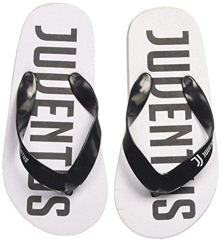 Juventus (Kids Shoes S19030/AZ Infradito Bambino, Bianco 25 EU
