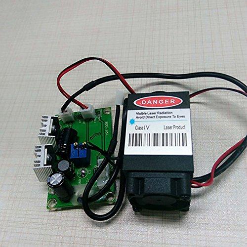 jiguoor Focusing High Power Laser Diode jlm8050zb-j2y5808nm 500mW DIY Rot Laser-Modul IR Beam -