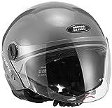 #4: Studds Track Super Half Helmet (Gun Grey, M)
