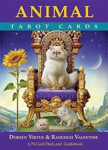 Tarot Des Animaux - Animal Tarot Cards: A 78-card Deck and
