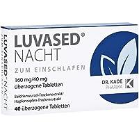 Luvased Nacht zum Einschlafen Tabletten, 40 St. preisvergleich bei billige-tabletten.eu