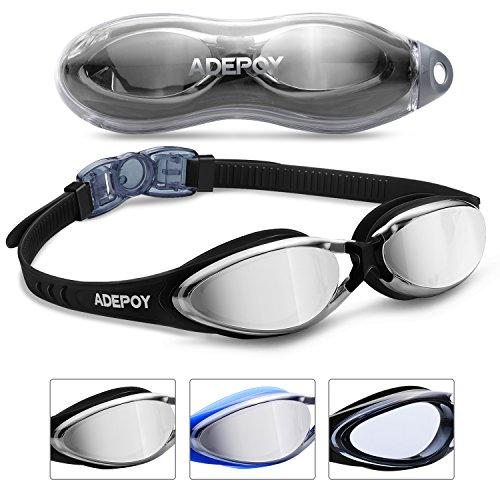 AdePoy - Gafas de natación antivaho